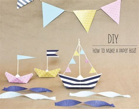 Motorboat You Old Sailor by 25 Best Ideas About Paper Boats On Pinterest Sailor