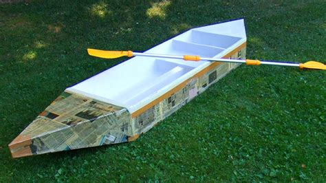Easy Cardboard Boat Making by How To Build A Boat Diy Bill Ship