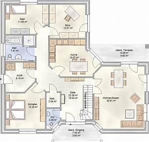 Fertighaus Bungalow 120 Qm : grundriss bungalow 150 qm mit zus tzlichen fantastisch schlafzimmer kunstdesign ~ Markanthonyermac.com Haus und Dekorationen