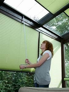 Plissee Für Große Fenster : plissees f r plafond deckenfenster ~ Markanthonyermac.com Haus und Dekorationen