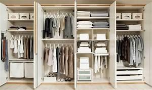 Wie Groß Sollte Ein Begehbarer Kleiderschrank Sein : 6 tipps f r ordnung im kleiderschrank ~ Markanthonyermac.com Haus und Dekorationen