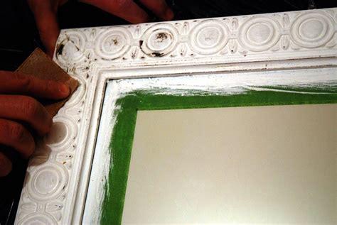 transformer un vieux miroir l an vert du d 233 cor