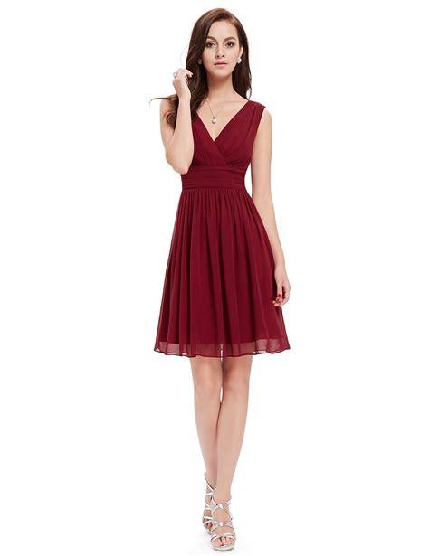 Sleeveless Dress by Short Sleeveless Party Dress With V Neck Ever Pretty