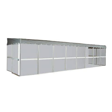 patio mate 12 panel screen enclosure 29122 white with
