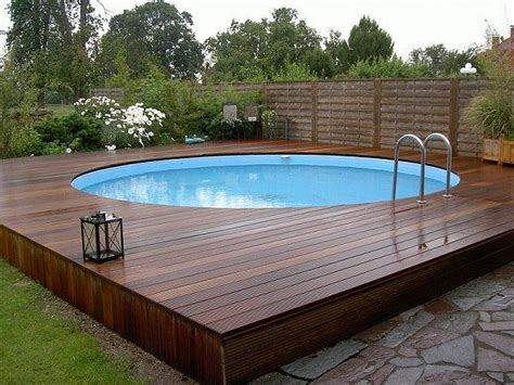 25 best ideas about above ground pool decks on pool decks swimming pool decks and