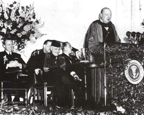 5 mars 1946 churchill 233 voque le 171 rideau de fer 187 je me souviens