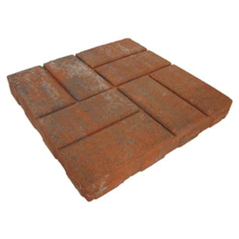 shop brickface concrete patio common 16 in x 16 in actual 15 5 in x 15 5 in at