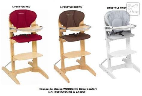housse de chaise haute woodline bebe confort