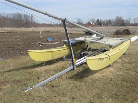 Catamaran Trailers For Sale Craigslist by 1981 Hobie Cat 16 Sailboat For Sale In Indiana