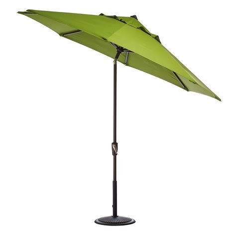 home decorators collection 9 ft auto tilt patio umbrella