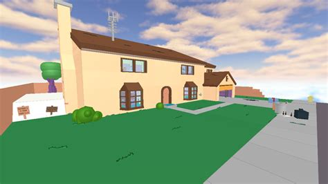 Roblox Home : The Simpsons House On Roblox