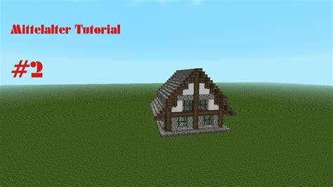 Minecraft Mittelalter Kleines Haus Für Anfänger Speed