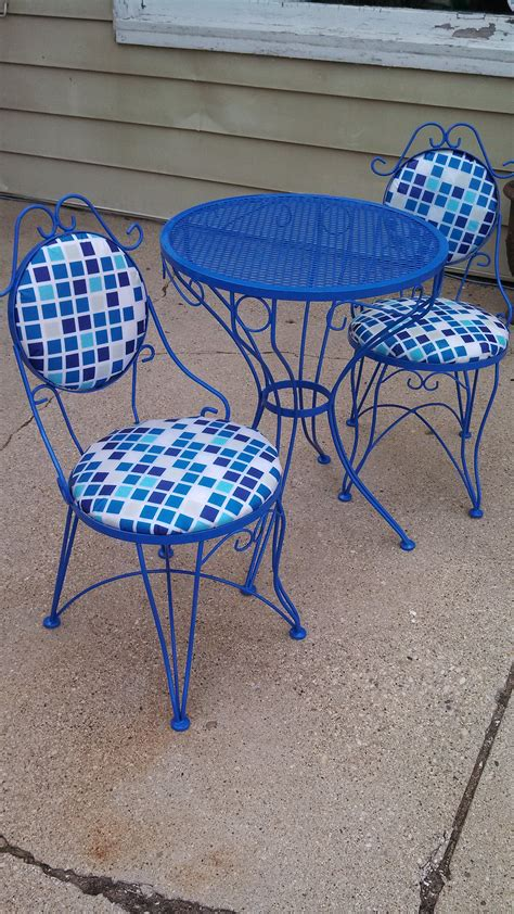 Paint For Wrought Iron Garden Furniture vintage wrought iron furniture treasure broker llc