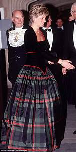 Princess Diana's Catherine Walker dress displayed at ...