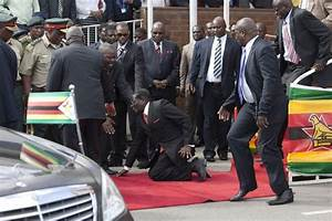 Watch: Robert Mugabe falls over - then tries to BAN video ...