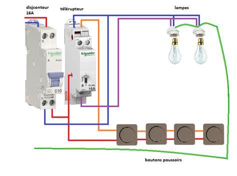 formidable tableau electrique dans salle de bain 14 schema electrique telerupteur unipolaire