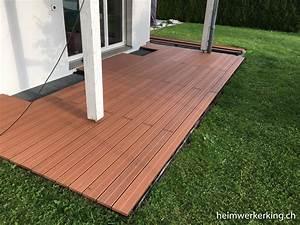 Holzdielen Für Terrasse : wpc terrasse selber verlegen heimwerkerking ~ Markanthonyermac.com Haus und Dekorationen