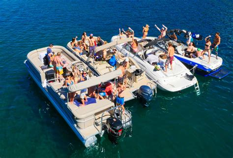 On A Boat Party by Tahoe Lake Party Boats Full Service Event Planning