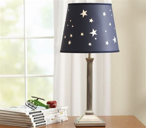 Jared Star Shade & Mason Base   Modern   Table Lamps   by Pottery Barn Kids