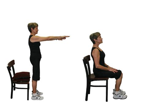 captains chair exercise