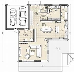 Grundriss Doppelhaushälfte Seitlicher Eingang : coller grundriss f r ein doppelhaus mit garage dazwischen blueprints pinterest ~ Markanthonyermac.com Haus und Dekorationen