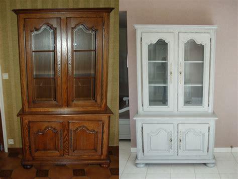repeindre un meuble vernis en blanc amazing enfilade style avant relooking with repeindre un