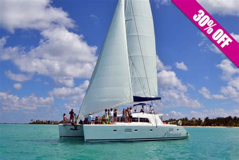 Isla Mujeres Catamaran Sailing Tour by Catamaran Isla Mujeres Tour
