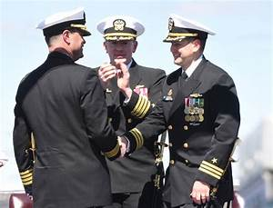 GI native takes command of USS Minnesota during Change of ...