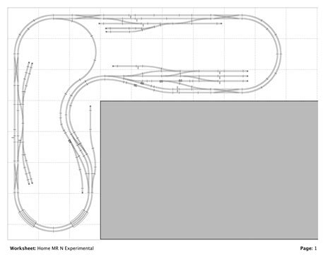 pictures lay out the plan n scale model railroad i started building this layout