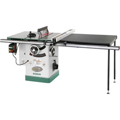 10 quot 3hp 220v cabinet table saw with rails riving