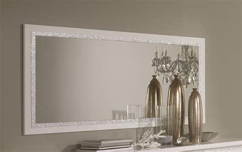 miroir de salle 224 manger design 140 cm laqu 233 blanc medusa miroir autres meubles salle a manger