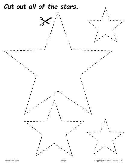 12 Printable Shapes Cutting Worksheets  Shapes Worksheets, Coloring Pages, & Activities
