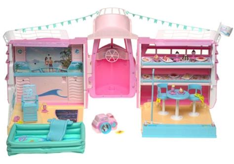 Buy Barbie Boat by Barbie Cruise Ship Playset W Child Size Camera Activates