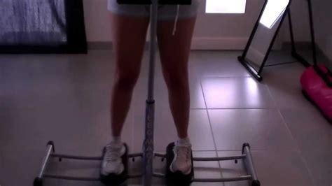 fitness routine 224 la maison affiner l int 233 rieur des cuisses avec le magic leg