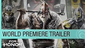 For Honor World Premiere Trailer - E3 2015 [US] - YouTube