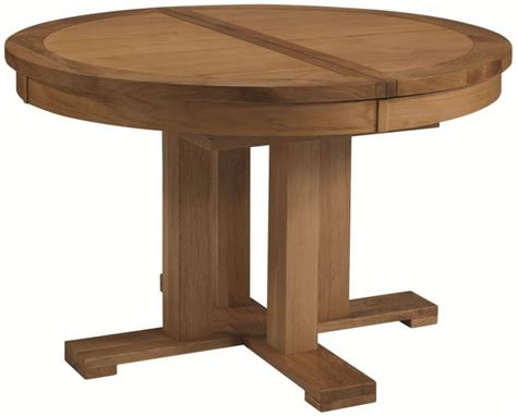 Furniture Edelweiss Round Dining Table Ash And White Made
