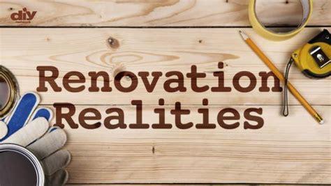 Renovation Realities Diy