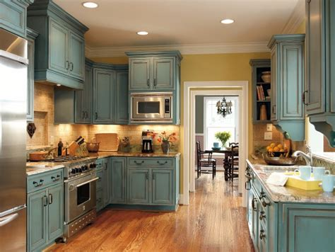 grandmas kitchen on turquoise kitchen cabinets