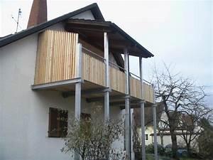 Balkon Nachträglich Anbauen Kosten : balkon in stahl und holz werner ettwein gmbh ~ Markanthonyermac.com Haus und Dekorationen