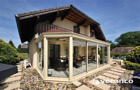 veranda emeraude mod 232 le 224 2 pans coup 233 s et toiture 224 facette