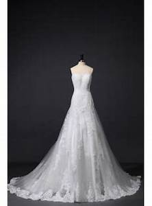 Ivory Sheath Lace Bridal Gown Timeless Classic:1st-dress.com