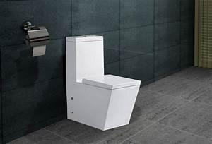 Stand Wc Eckig : design stand wc eckig sp lkasten mit nano beschichtu ng softclose a389 ebay ~ Markanthonyermac.com Haus und Dekorationen