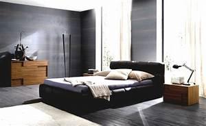Dunkler Boden Weiße Sockelleisten : schlafzimmer schwarz 31 beispiele dass schwarze schlafzimmer schick und wohnlich sind ~ Markanthonyermac.com Haus und Dekorationen