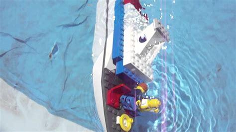 sinking lego boat