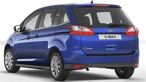dimensions ford grand c max 2015 coffre et int 233 rieur