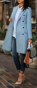 Blue Trench Coat ? L.o.v.e. – Bumping Hanger
