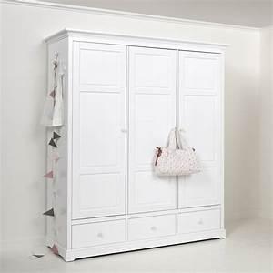 Weißer Kleiderschrank Landhausstil : oliver furniture kleiderschrank 3 t rig wei ~ Markanthonyermac.com Haus und Dekorationen