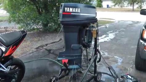 Yamaha Outboard Motor Videos by Yamaha 55hp 2 Stroke Outboard Motor Youtube