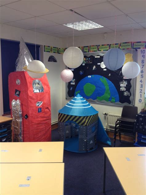 Space Themed Classroom  Library  Srp 2014 Pinterest