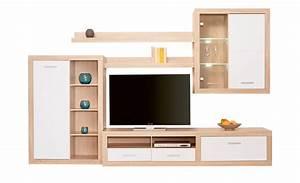 Moderne Wohnzimmer Schrankwand : moderne wohnwand cuevo m bel h ffner ~ Markanthonyermac.com Haus und Dekorationen